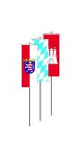 Bundesländerfahnen als Bannerfahnen