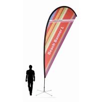 BeachBanner Select 3in1 Größe L - Höhe ca. 450 cm