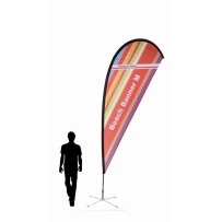 BeachBanner Select 3in1 Größe M - Höhe ca. 340 cm