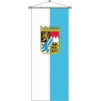 Bayern-Streifen mit Wappen
