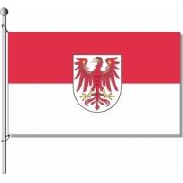 Brandenburg mit Wappen