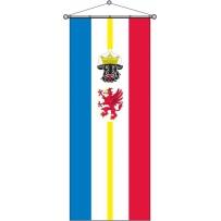 Mecklenburg-Vorpommern mit Wappen