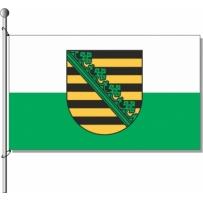 Sachsen mit Wappen