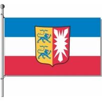 Schleswig-Holstein mit Wappen