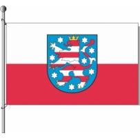 Thüringen mit Wappen