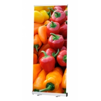 Roll Up Economy PLUS 120x200 cm, Druck inkl. System